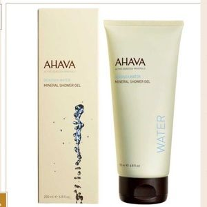 AHAVA Dead Sea water mineral shower gel